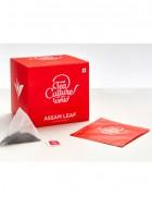 Tea Culture of the World Assam Leaf 20 Tea Bags (Pack of 2)