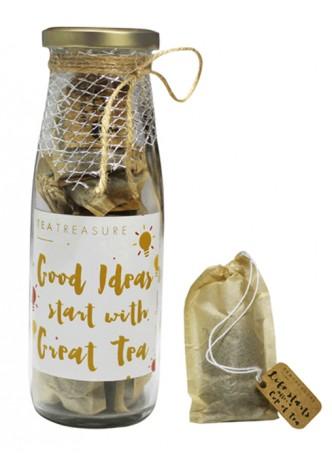 Tea Treasure Darjeeling First Flush Handcrafted Tea Bags (Pack of 2)