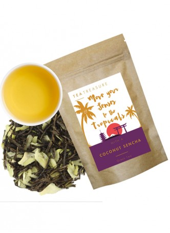 Tea Treasure Coconut Sencha Tea