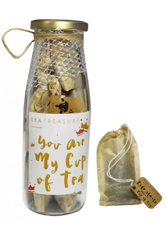 Tea Treasure Princess of Green Handcrafted Tea Bags (Pack of 2)