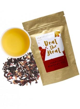 Tea Treasure Tropical Hibiscus Green Tea
