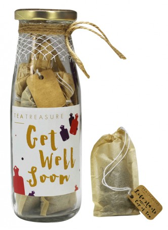 Tea Treasure Immunity Booster Handcrafted Tea Bags (Pack of 2)