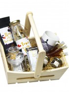 Tea Treasure Gourmet Basket - Lemon Tulsi Green Tea