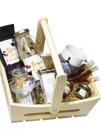 Tea Treasure Gourmet Basket - Lemon Tulsi Green Tea