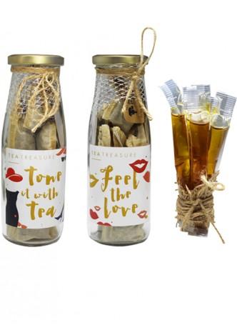 Tea Treasure Kitty Party Tea Set- Tea Bag Bottles