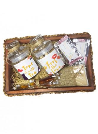 Tea Treasure Kitty Party Tea Set- Dollop 20 Tea Bags