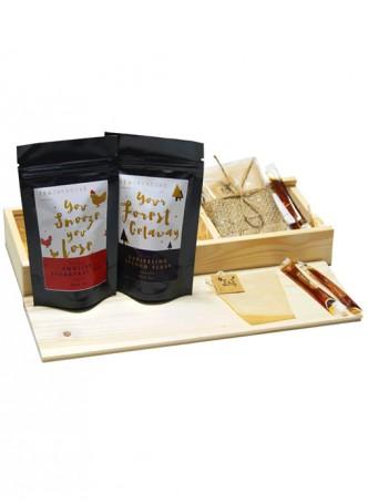 Tea Treaure Tea For Two - Wood Box - 2