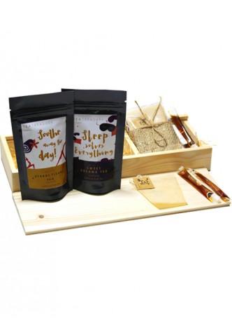 Tea Treaure Tea For Two - Wood Box - 3
