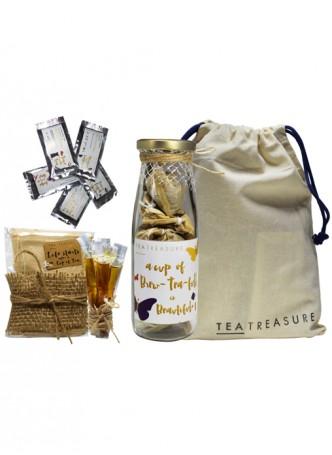Tea Treasure Green Butterfly Travel Kit