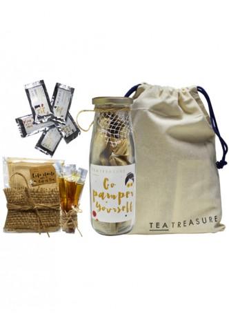 Tea Treasure Tulsi Green Tea Travel Kit