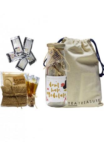 Tea Treasure Lemon Tulsi Green Tea Travel Kit