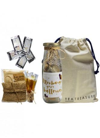 Tea Treasure Zesty Lemon Green Tea Travel Kit
