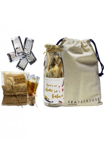 Tea Treasure Kashmiri Kahwa Green Tea Travel Kit