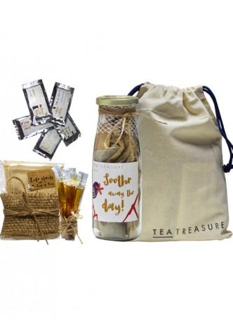 Tea Treasure Herbal Tisane Tea Travel Kit