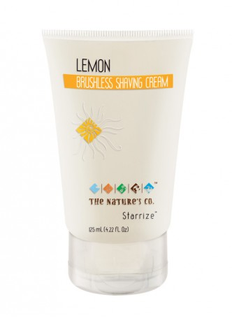 The Nature's Co Lemon Brushless Shaving Cream