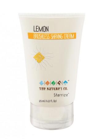 The Nature's Co Lemon Brushless Shaving Cream