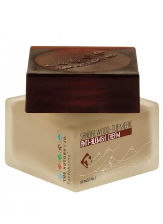 The Nature's Co Sandalwood - Turmeric Anti Blemish Cream