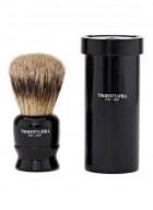 Truefitt And Hill Tube Traveler Shave Brush - Black