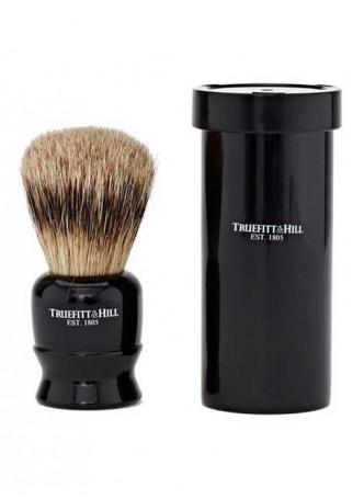 Truefitt And Hill Tube Traveler Shave Brush - Black