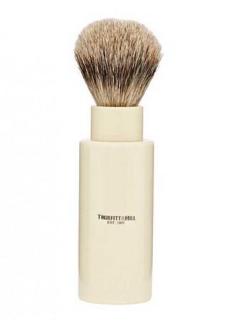 Truefitt And Hill Turnback Travel Shave Brush - Cream