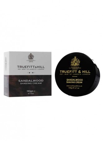 Truefitt And Hill New Sandalwood Shave Cream Bowl