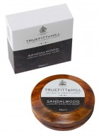 Truefitt And Hill Sandalwood Luxury Shaving Soap In Wooden Bowl