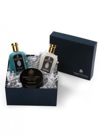 Truefitt And Hill Classic Gift Set Trafalgar - Bowl - Balm - Cologne