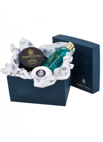 Truefitt And Hill Bathroom Gift Set 1805 - Bowl - Bands Gel - Soap