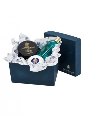 Truefitt And Hill Bathroom Gift Set Grafton - Bowl - Bands Gel - Soap