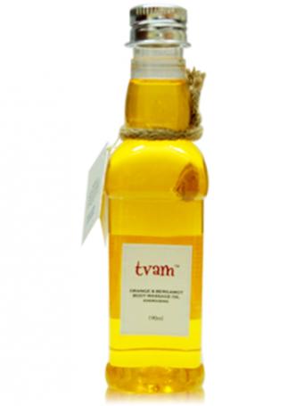 Tvam Body Massage Oil - Orange and Bergamot