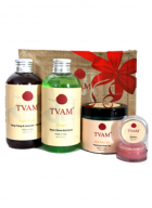 Tvam Gift Pack - Face Care (Face Wash, Face Toner, AloeVera Gel and Lip Balm)