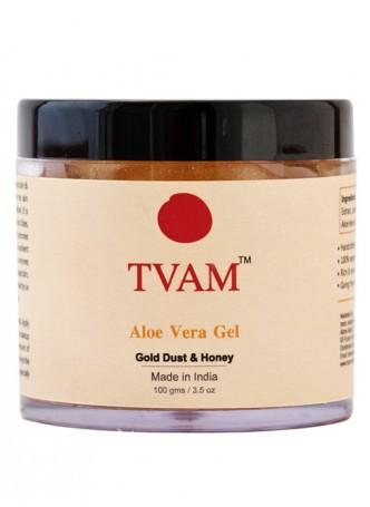 Tvam Aloe Vera Body Gel - Gold Dust and Honey