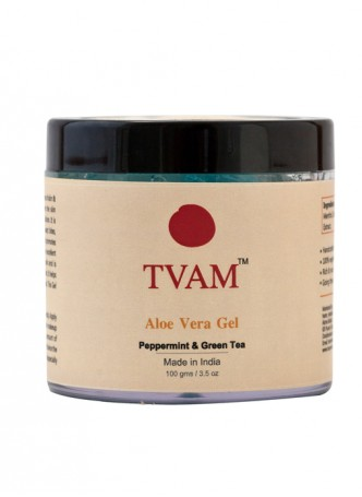 Tvam Aloe Vera Body Gel - Peppermint and Green Tea