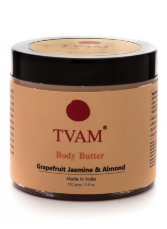 Tvam Body Butter-Grapefruit Jasmine and Almond