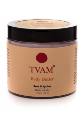 Tvam Body Butter-Rose Litchi