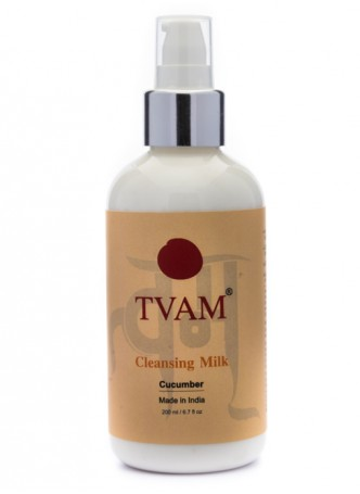 Tvam Cleansing Milk - Cucumber