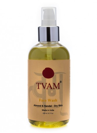 Tvam Face Wash - Almond and Sandal for Dry Skin
