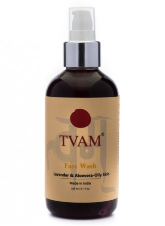 Tvam Face Wash - Lavender and Aloevera for Oily Skin