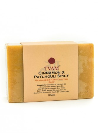 Tvam Handmade Soap - Cinnamon and Patchouli