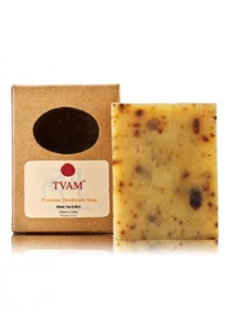 Tvam Handmade Soap - Green Tea and Mint