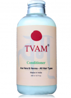 Tvam Conditioner - Aloevera and Henna for All Hair Types
