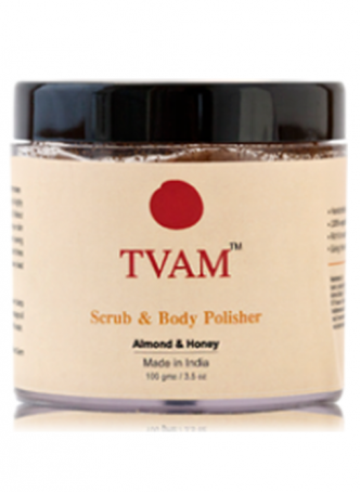Tvam Scrub and Body Polisher - Almond and Honey