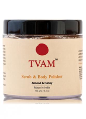 Tvam Scrub and Body Polisher - Almond and Honey