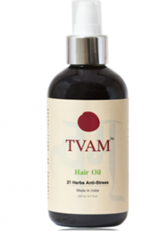 Tvam Hair Oil - 21 Herbs Anti-Stress