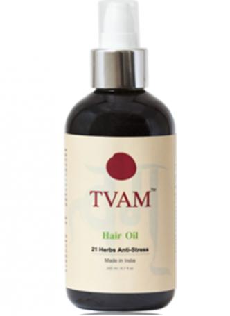 Tvam Hair Oil - 21 Herbs Anti-Stress