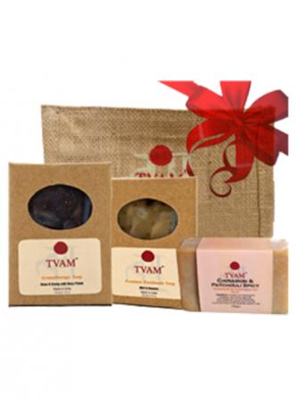 Tvam Gift Pack - Bath Care (3 Handmade Soaps)