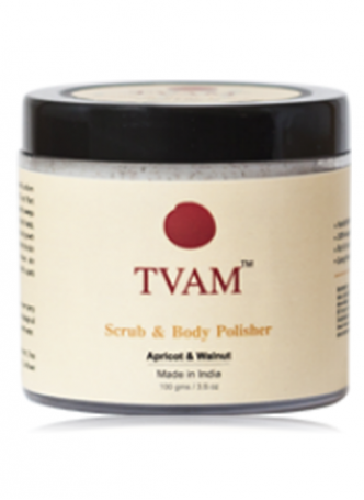 Tvam Scrub and Body Polisher - Apricot and Walnut