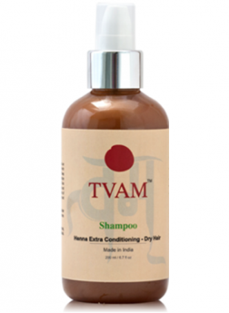 Tvam Shampoo - Henna Extra Conditioning for Dry Hair