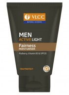 VLCC Men Active Light Fairness Moisturiser 100 ml-Pack of 2