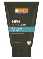 VLCC Men Active Light Face Wash 100 ml-Pack of 2